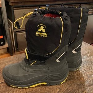 Kamik waterproof snow boots.
